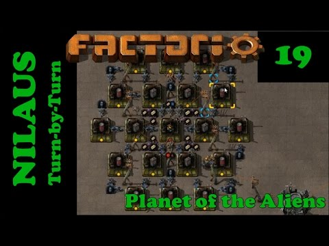 Lets Play Factorio S5E19 - Destroyers, Modules and Capacitors