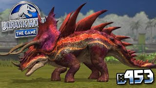 THE FIRST SUPER HYBRID MAXED!!! || Jurassic World - The Game - Ep 453 HD
