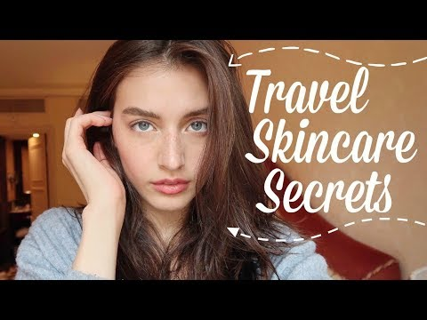 My SECRET Travel Skincare Guide | Combat Dryness & Stress | Jessica Clements