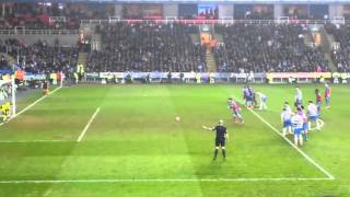 Video Gol Pertandingan Reading vs Crystal Palace