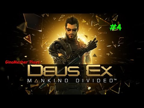 Deus Ex: Mankind Divided | Picking the Right Bank... Much Important | Meshing Gameplay