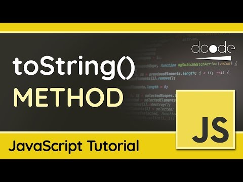 Converting Objects to Strings with toString() - Advanced JavaScript Tutorial thumbnail