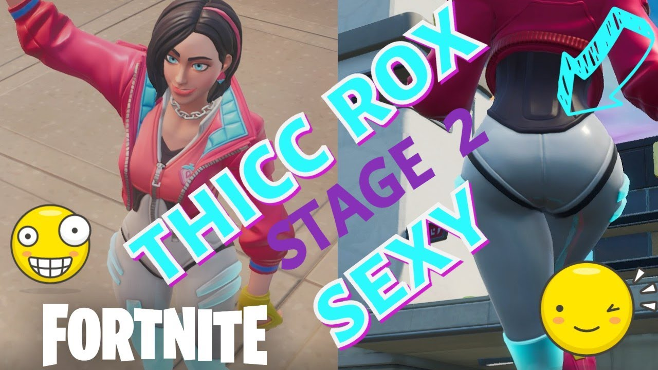 Hot Every Rox Stage 2 Thicc Sexy Dance Season 9 Fortnite