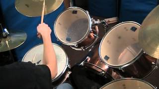 Avenged sevenfold - Unholy confessions drum cover Practice 1
