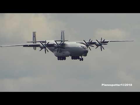 АН-22 RF-09309 ex.RA-09309. Посадка в Твери-Мигалово