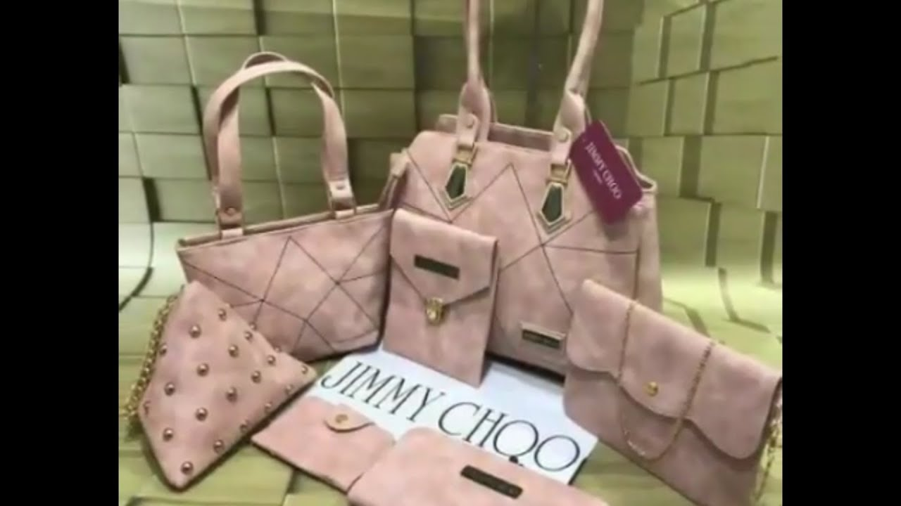 d26f230ec09 Designer bag combo ! Jimmy Choo combo bags collection ! New 2018 ! Fashion  street