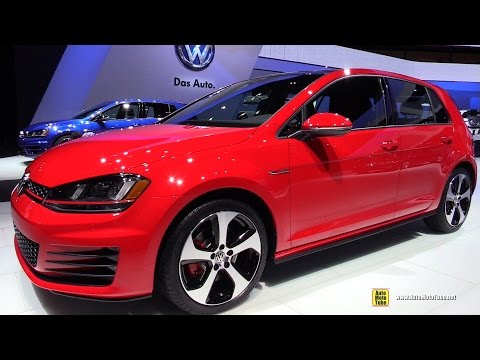 2015 Volkswagen Golf GTI - Exterior and Interior Walkaround - 2015 Detroit Auto Show