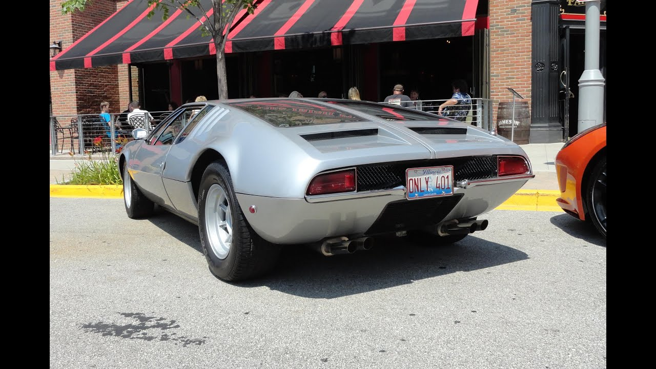 1969 De Tomaso Mangusta - My Car Story with Lou Costabile - YouTube