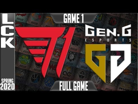 T1 vs GEN Highlights ALL GAMES | LCK Spring 2020 W2D5 | T1 vs Gen.G