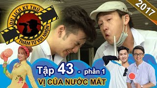Quang Bảo vừa cắt hành vừa khóc không ngừng   NTTVN #43   Phần 1   261017😭