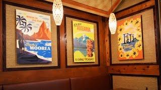 Refurbished Captain Cook's Re-opens At Disney's Polynesian Resort, Walt Disney World - Detailed Tour