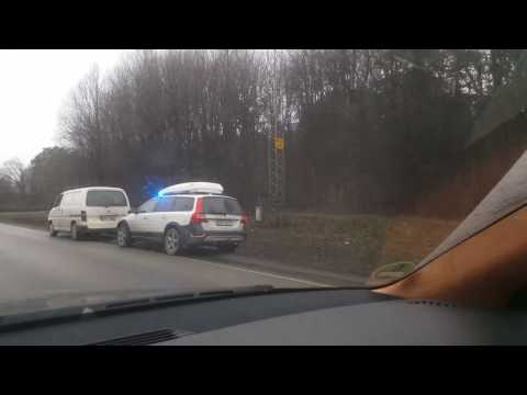 [4k] Unmarked Swedish Police SNEAKY in Stockholm, Sweden