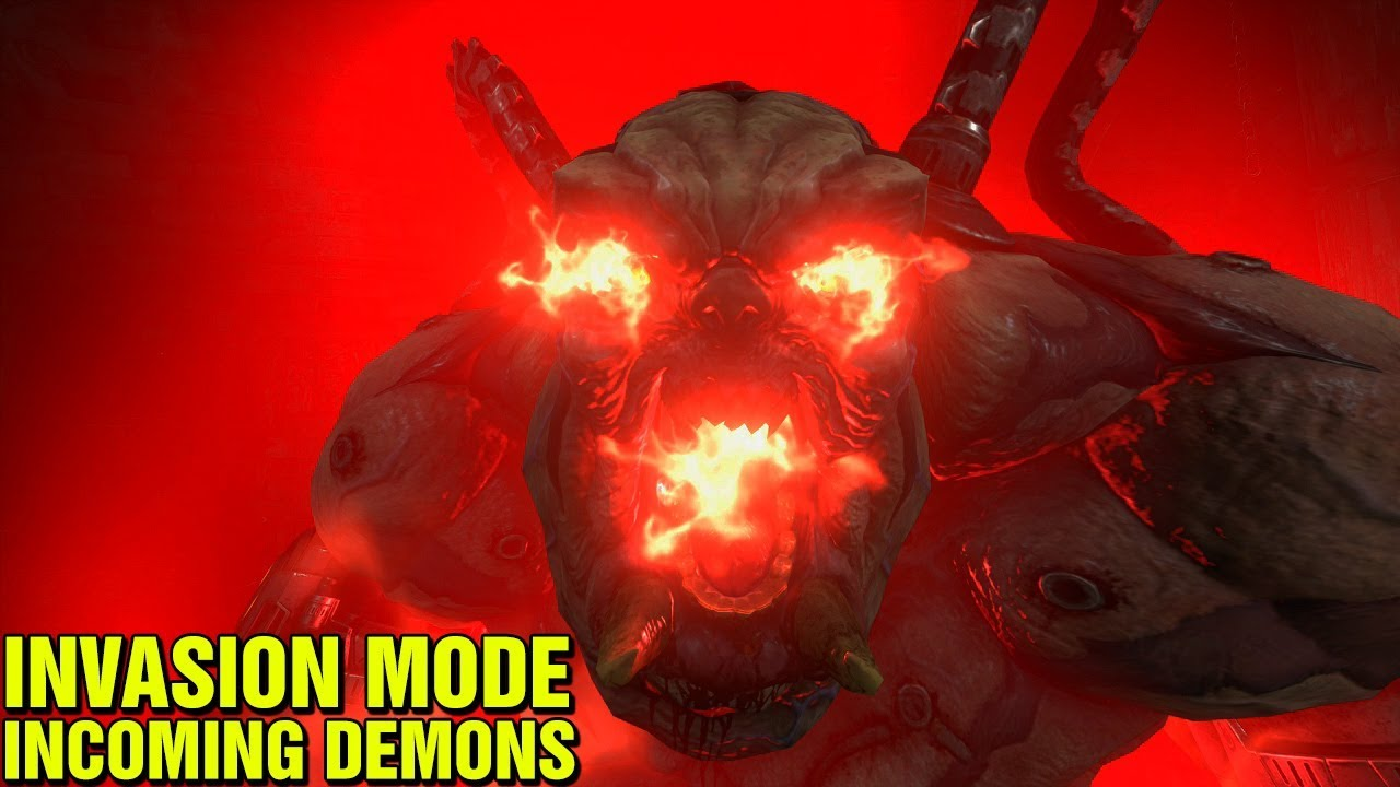 Invasion Mode Prepare Yourself Doom Eternal New Feature Dlc