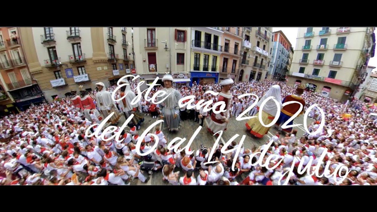 ¿Gigantes de Pamplona en San Fermín 2020? Iruñeko erraldoiak