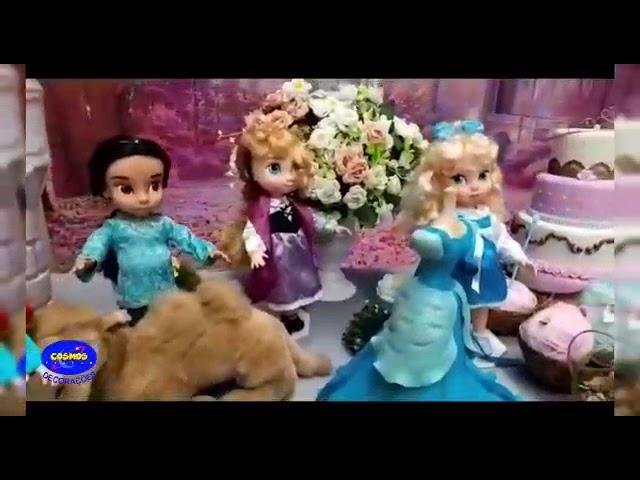 As Princesas   Cosmos Decorações