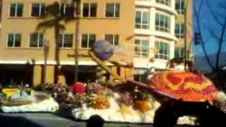 ROSE PARADE 2014:  SOUTH PASADENA FLOAT
