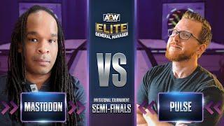 Mastodon vs Pulse   AEW Elite GM Invitational Tournament   Semi-Finals
