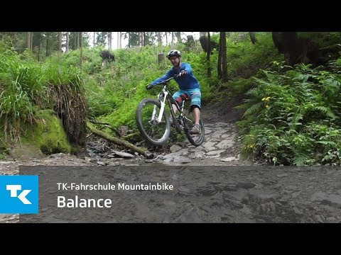 TK-Fahrschule Mountainbike - Balance