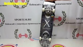 обзор скейтборда Hello Wood Razor / Review skateboard Hello Wood Razor