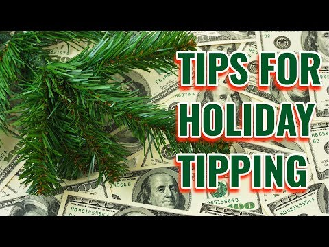Cyndi & Chris - Who Do You Tip for the Holidays?