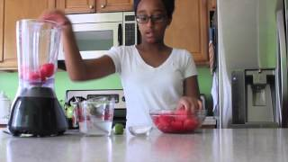 How To Make A Watermelon Slushie (perfect Healthy Drink For Summer)