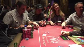 ALL IN Hand at ARIA casino Vegas Poker Cash Game!