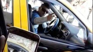 Video: Violencia contra una mujer taxista, así insultó un conductor a una colega