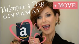 Belated Valentine's Day Giveaway + Move