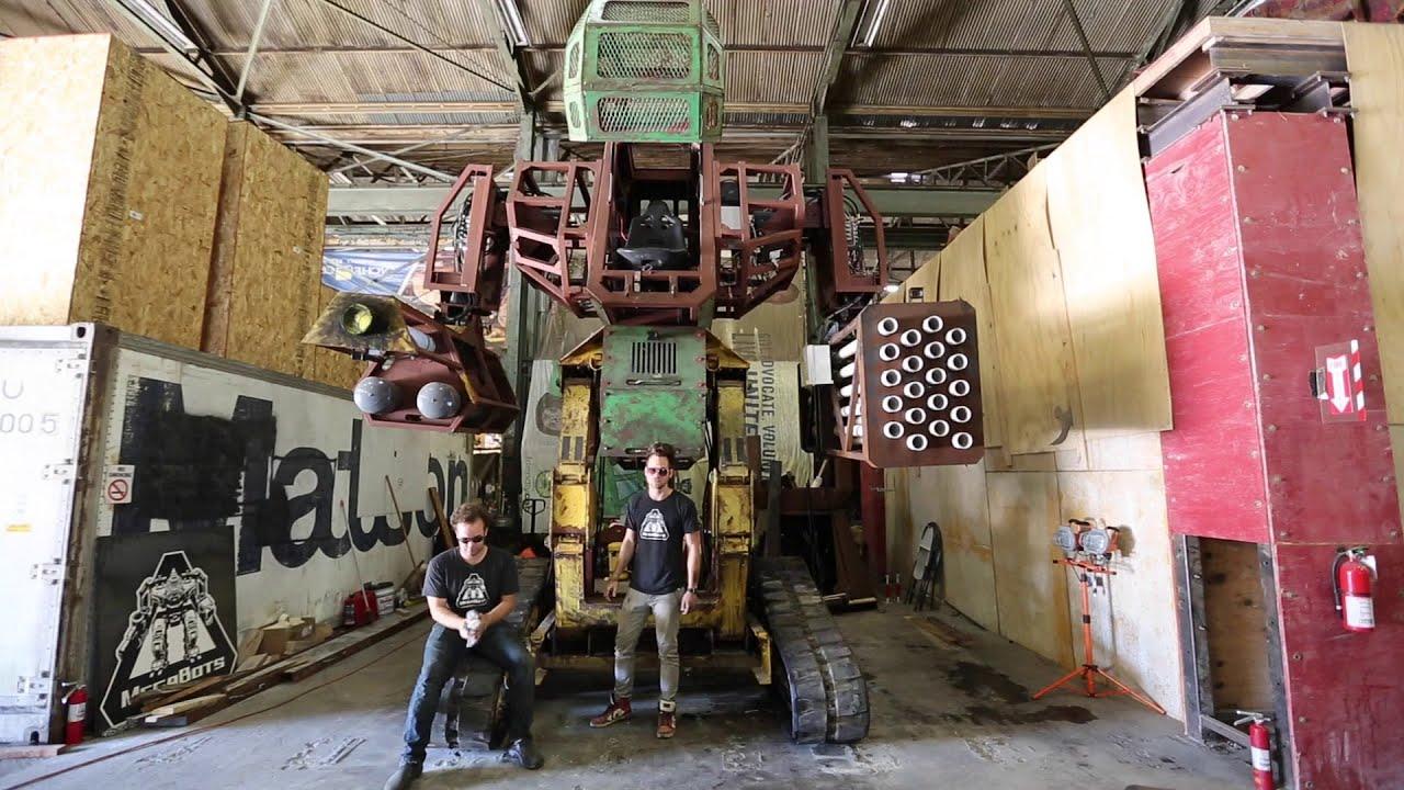 Team Usa Kickstarter For Giant Robot Duel Youtube