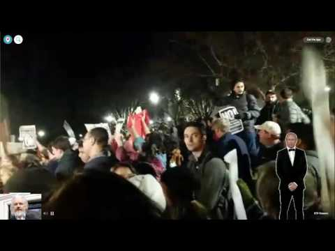 🔴 Milo Protest at University of California, Davis 1/13/2017 via Periscope
