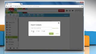 How to import contacts to AOL® Mail