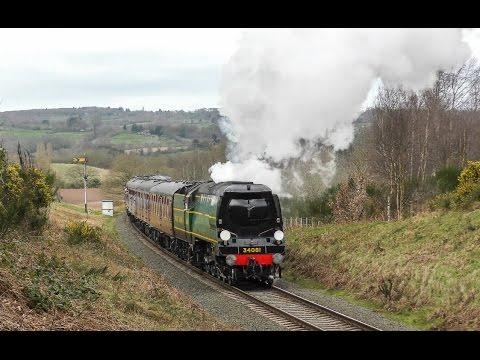 Severn Valley Railway - Spring Steam Gala 2017