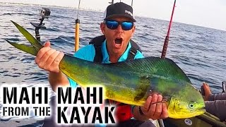 Kayak Fishing: MAHI MAHI & SAILFISH Action in Florida