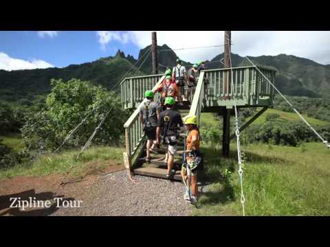zipline-tour-at-kualoa-ranch