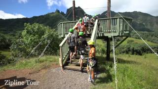 Zipline Tour at Kualoa Ranch