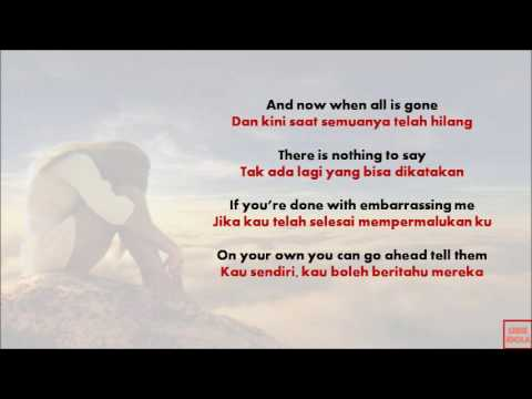 terjemahan lagu count on me