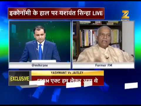 Watch: Special Interview with former Finance Minister Yashwant Sinha on financial Tsunami in India