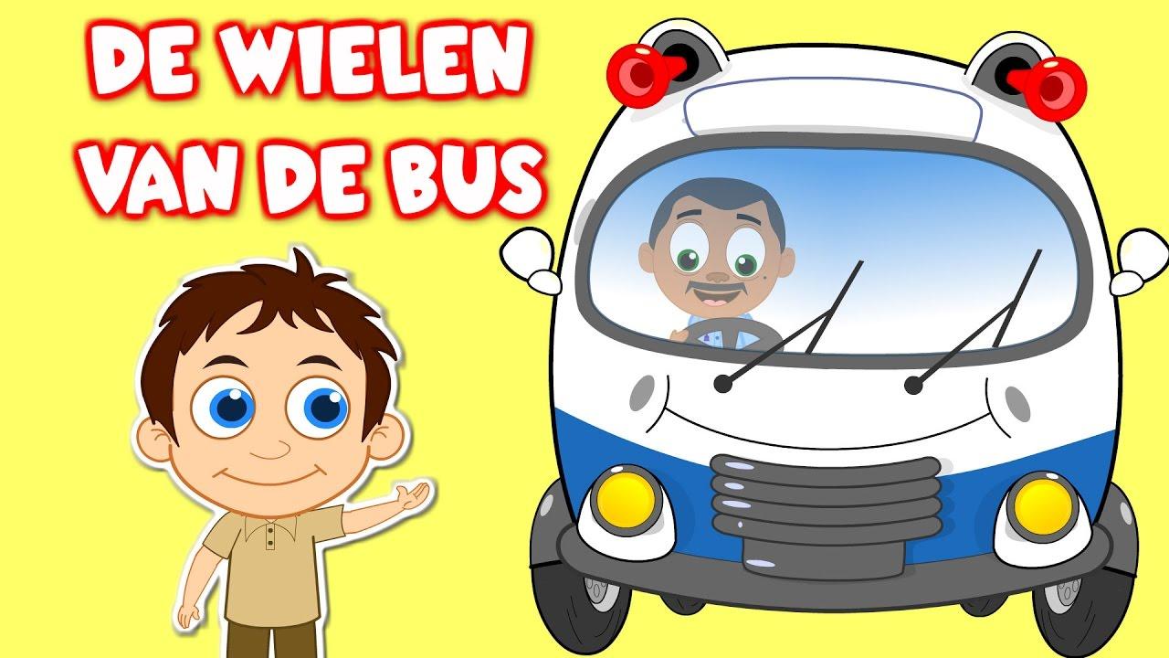 Nederlandse Kinderliedjes De Wielen Van De Bus Etc Wheels On
