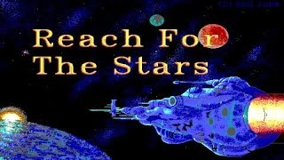 Reach for the Stars: The Conquest of the Galaxy gameplay (PC Game, 1983)