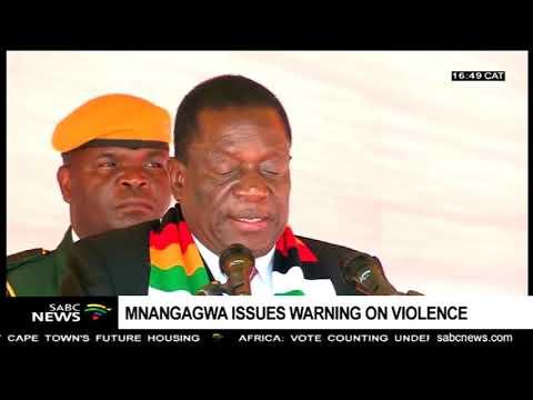 Pres Mnangagwa urges ZANUPF supporters to avoid divisive politics