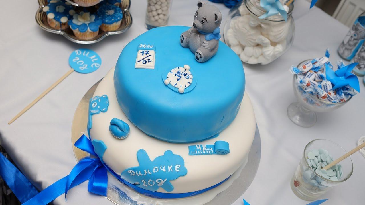 Торт на день рождения - Детское питание на готовим