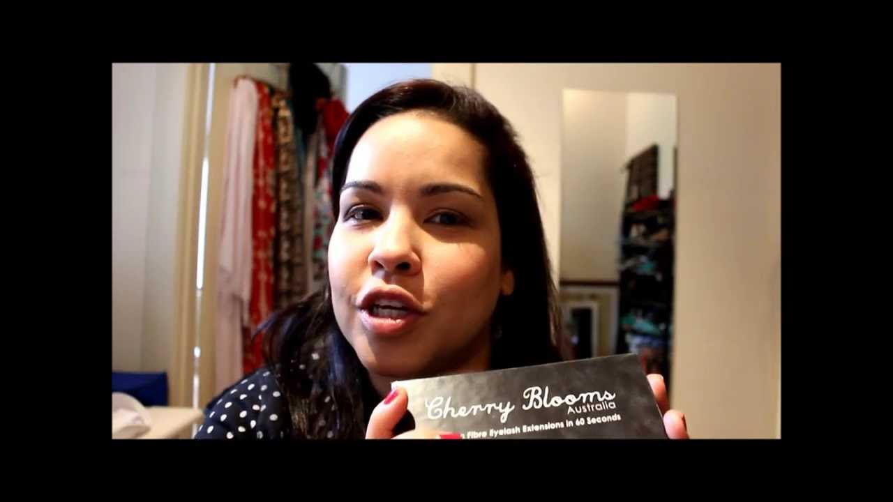 Cherry Blooms Fibre Lash Extension Mascara Review Youtube
