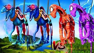 Spiderman Iguanodon&Captai…