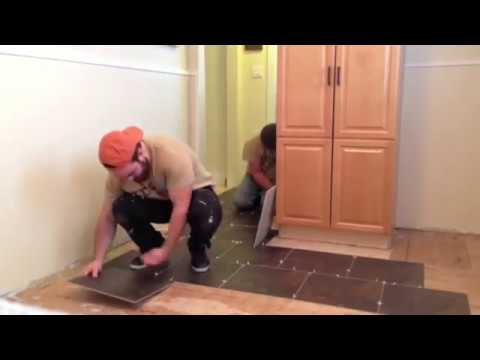 Fast Tile Install - JFS Construction Kitchener Waterloo Cambridge Guelph