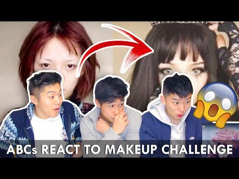 REACT TO CHINESE MAKEUP TRANSFORMATION CHALLENGE - YOU SHOULD SEE ME IN A CROWN Tik Tok - 美國華裔看中國的抖音