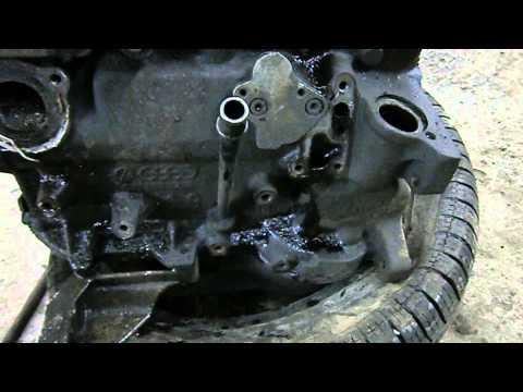AUDI 80 1.9 (SD) - Разборка и дефектовка двигателя.