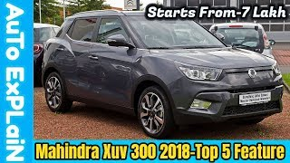 Mahindra Xuv 300 - 5 Interesting Facts || Launch Date