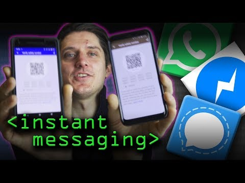 Instant Messaging And The Signal Protocol - Computerphile