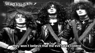 Destruction - Bestial Invasion (With Lyrics)