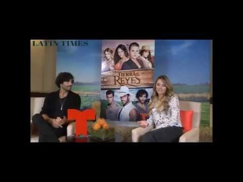 Gonzálo Garcia Vivanco y Kimberly Dos Ramos Tierra de Reyes Interview Latin Times